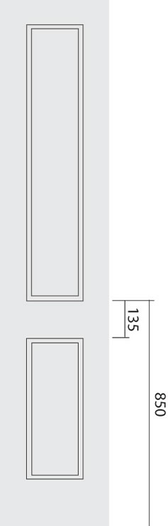 Ardmore 2 Panel Narrow Door