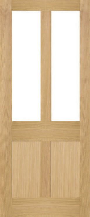 Brookby 2 Panel 2 Light Door